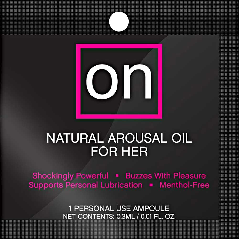 On Natural Arousal Oil for Her Single Packet 0.2 Ml - View #1