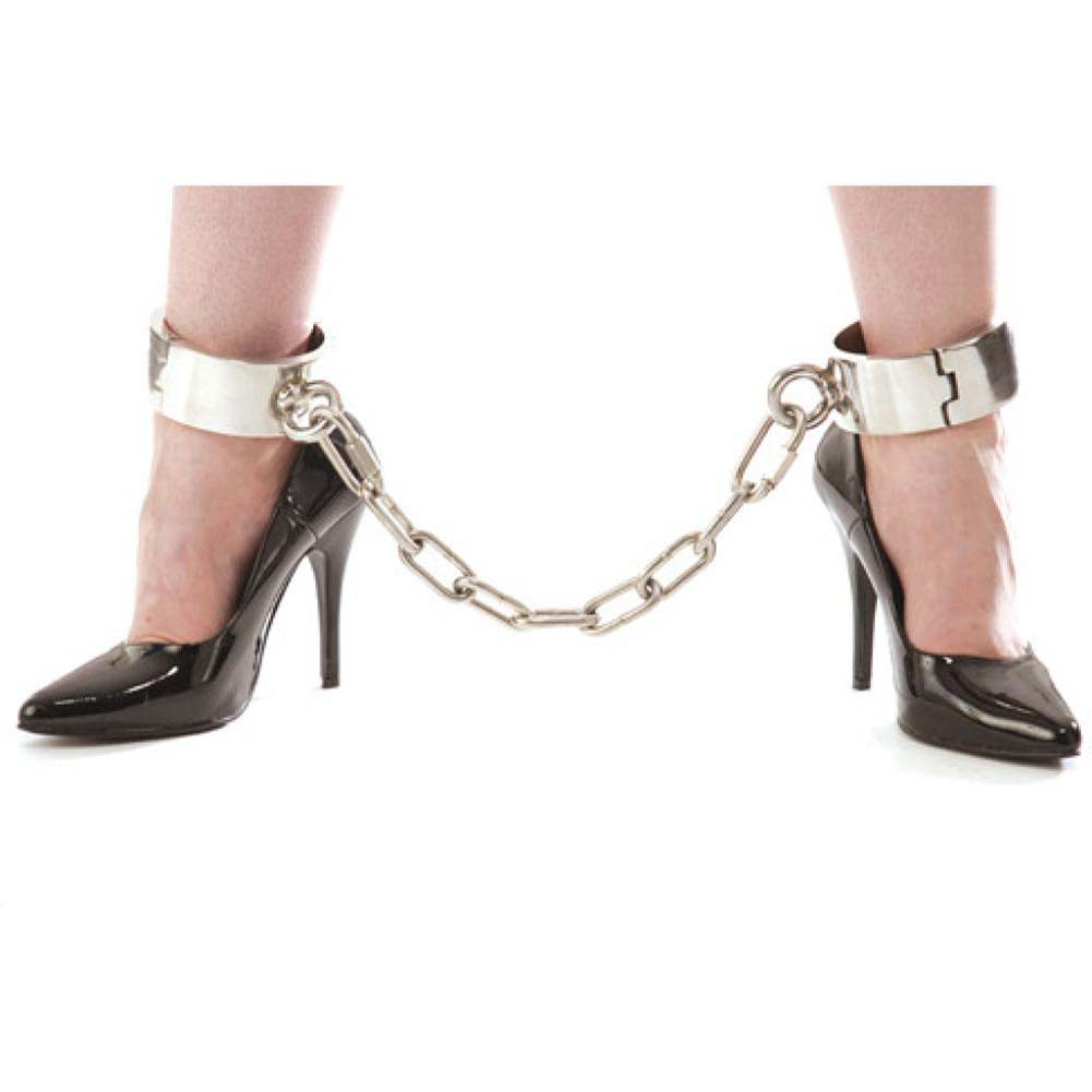 Rapture Stainless Steel Ankle Shackles - View #2