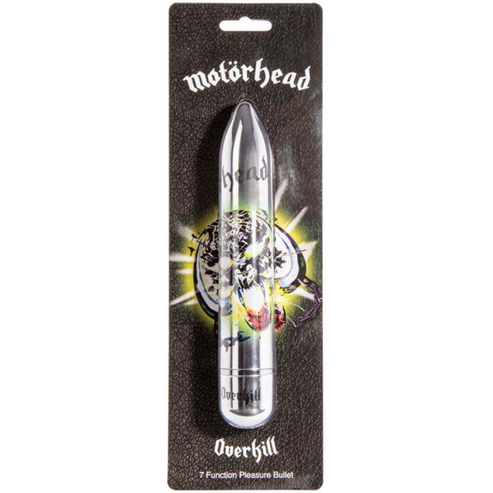 Motorhead Overkill Power Vibrator 7 Function Silver - View #1