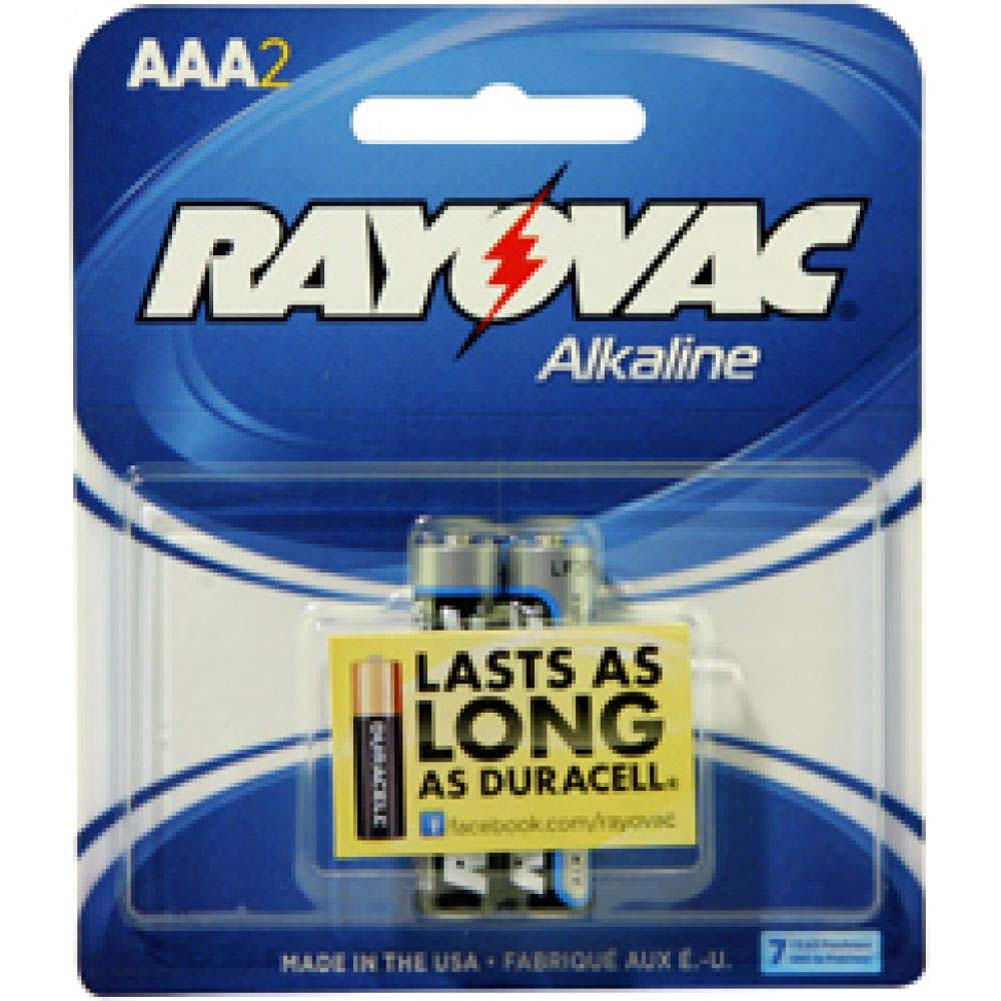 Rayovac Battery AAA 2 Piece Pack - View #1