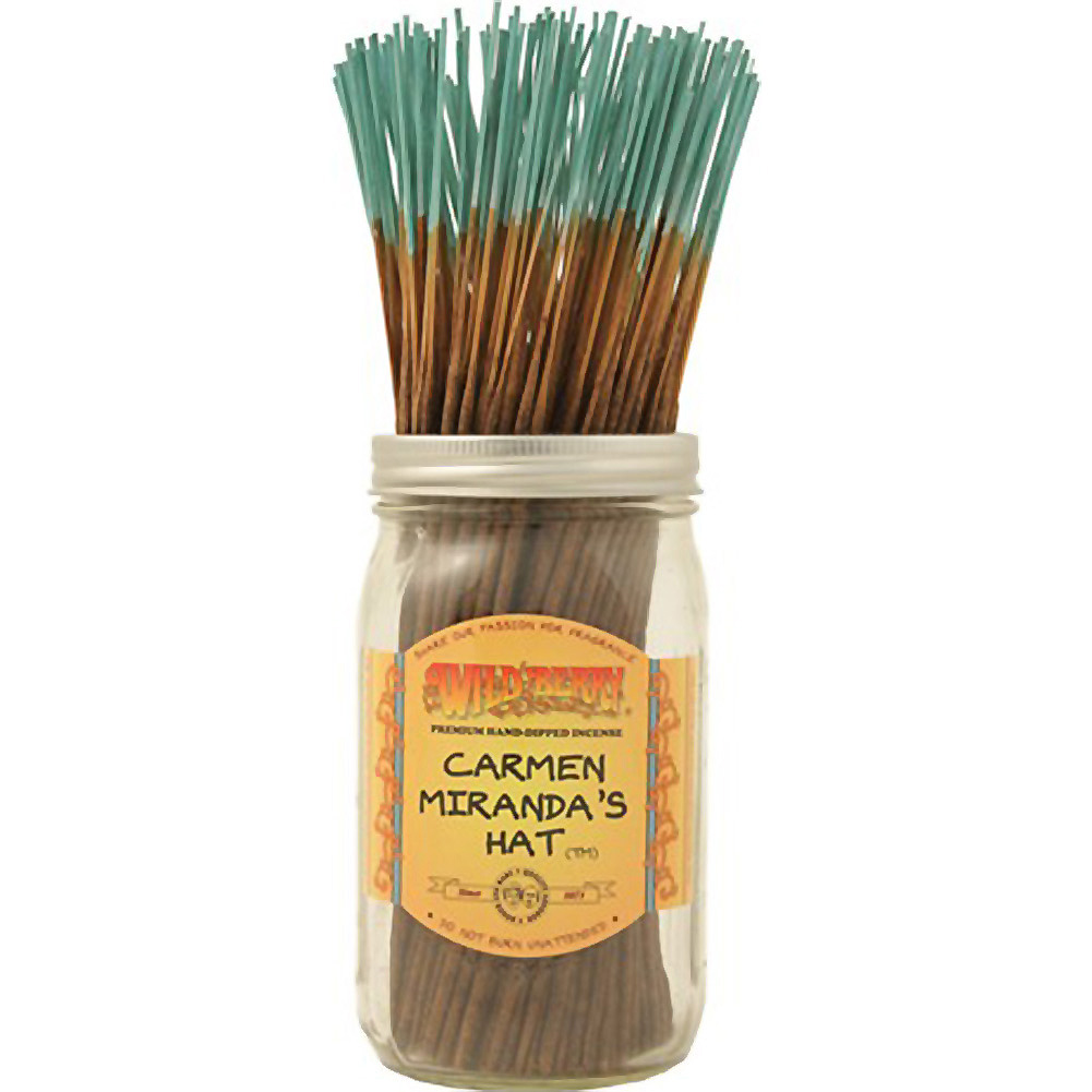 Wildberry Incense Carmen MirandS Hat 100 Count Bundle - View #1