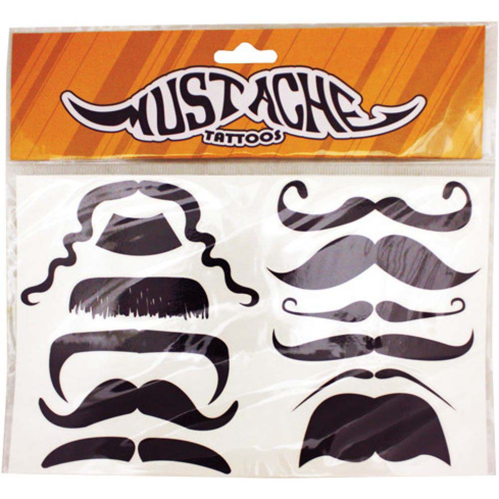 Mustache Tattoo Pack - View #1