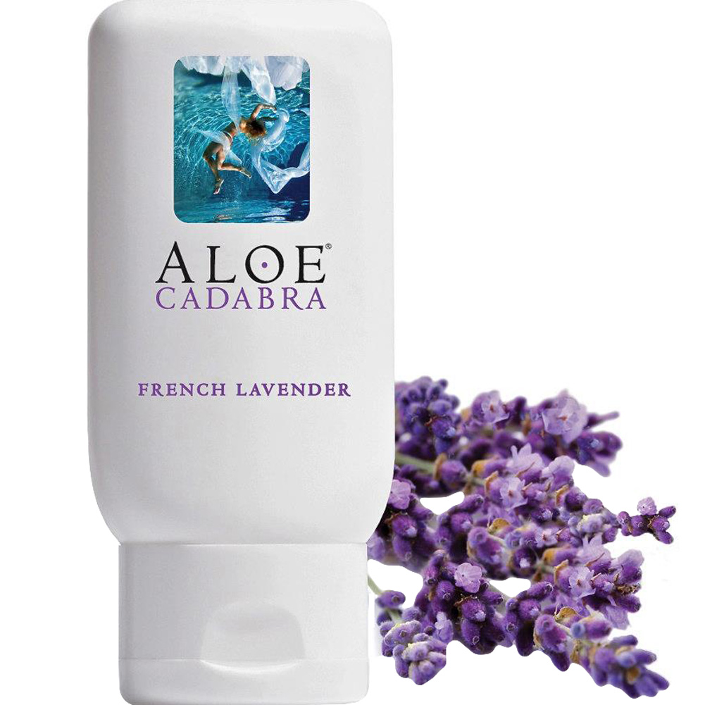 Aloe Cadabra Organic Lubricant French Lavender 2.5 Oz Bottle - View #2