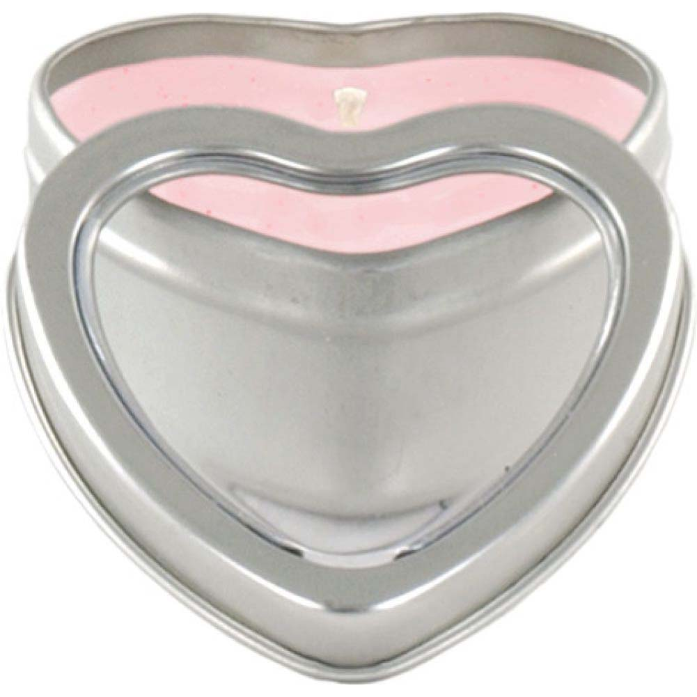 Mini Heart Pheromone Candle Strawberry - View #2