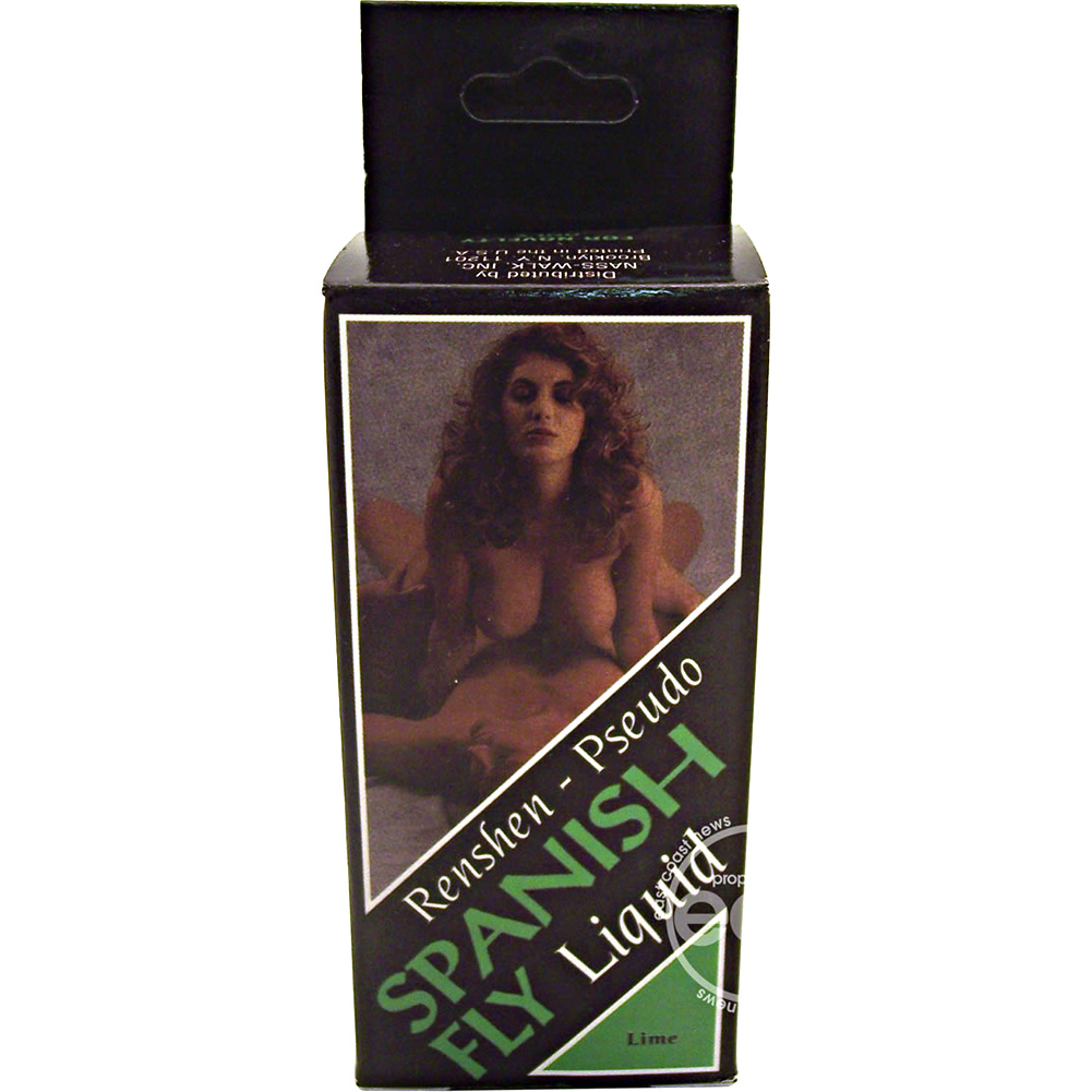 Spanish Fly Liquid 1 Fl.Oz 30 mL Luscious Lime Flavor - View #1