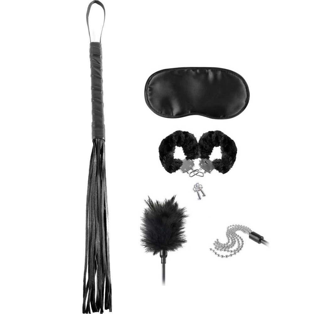 Fetish Fantasy Limited Edition Bondage Teaser Kit Black - View #2