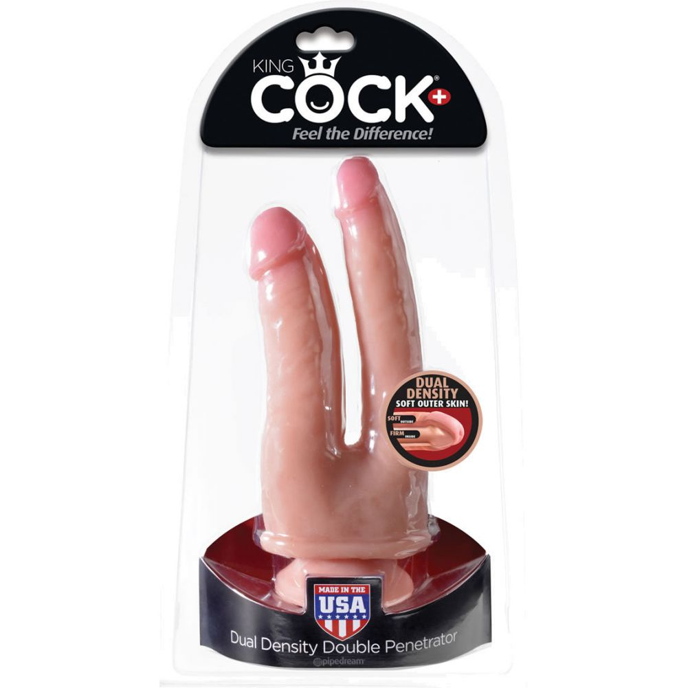 King Cock Plus Dual Density Double Penetrator - View #1