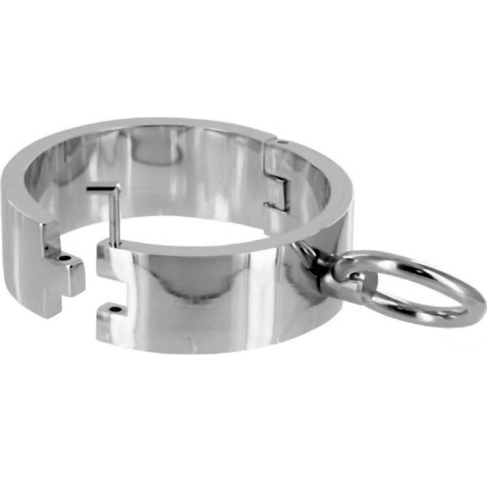 Master Series Chrome Slave Bracelets Med/Large Set of 2 - View #1