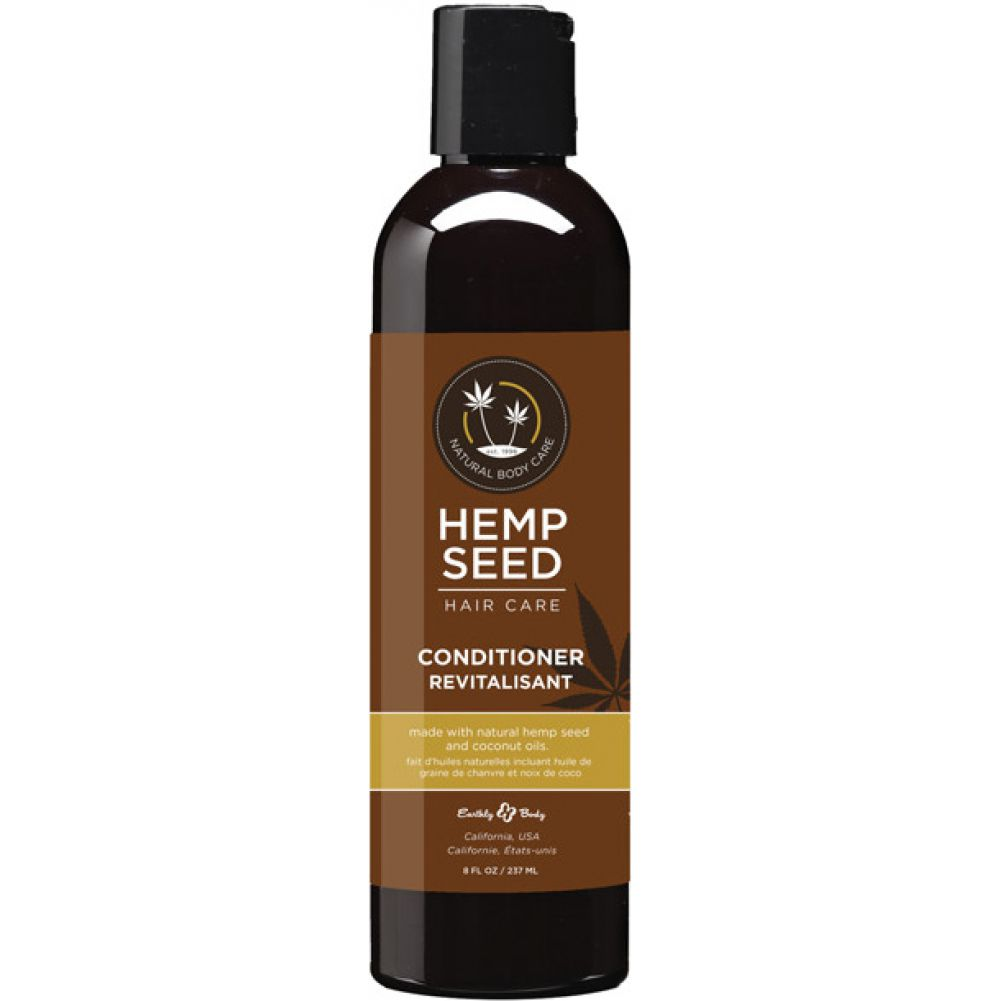 Earthly Body Hemp Seed Hair Care Conditioner 8 Oz 236 mL - View #1
