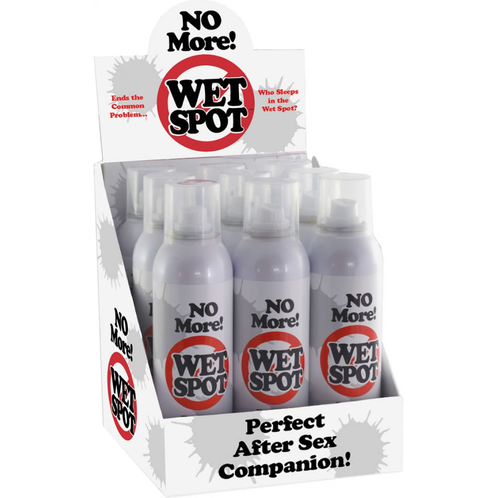 No More Wet Spot Powder Spray Counter Display 9 Pack - View #1