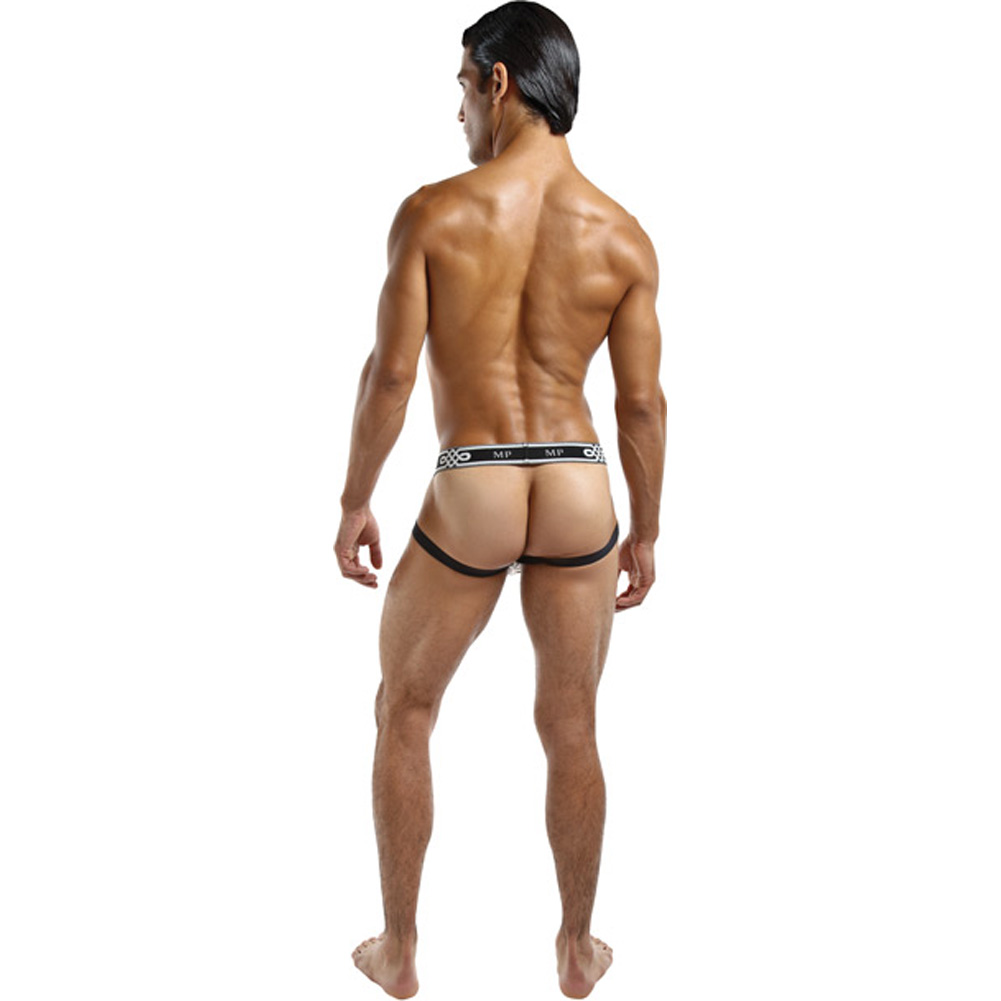 Male Power See Through Ring Jock Large/Extra Large Black - View #3