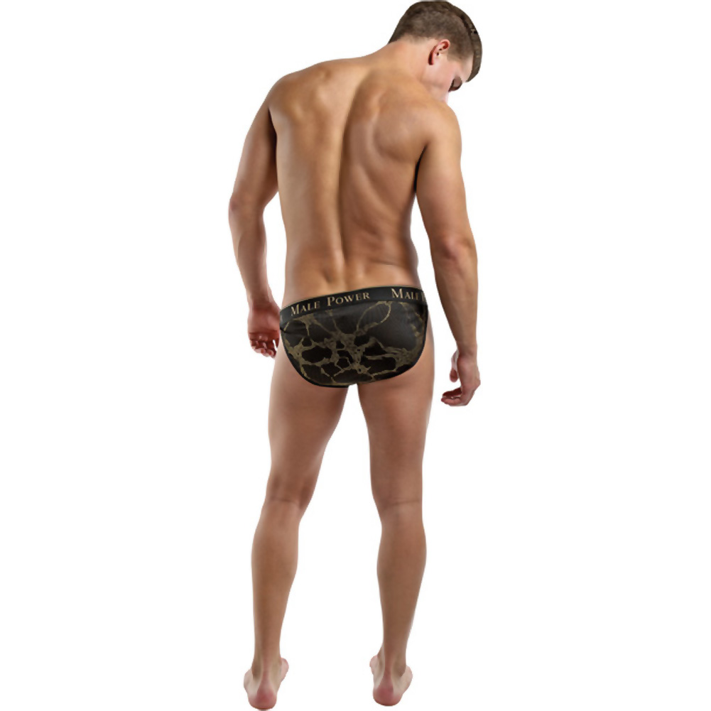Male Power Enrichment Bikini Extra Large Black Gold - View #4