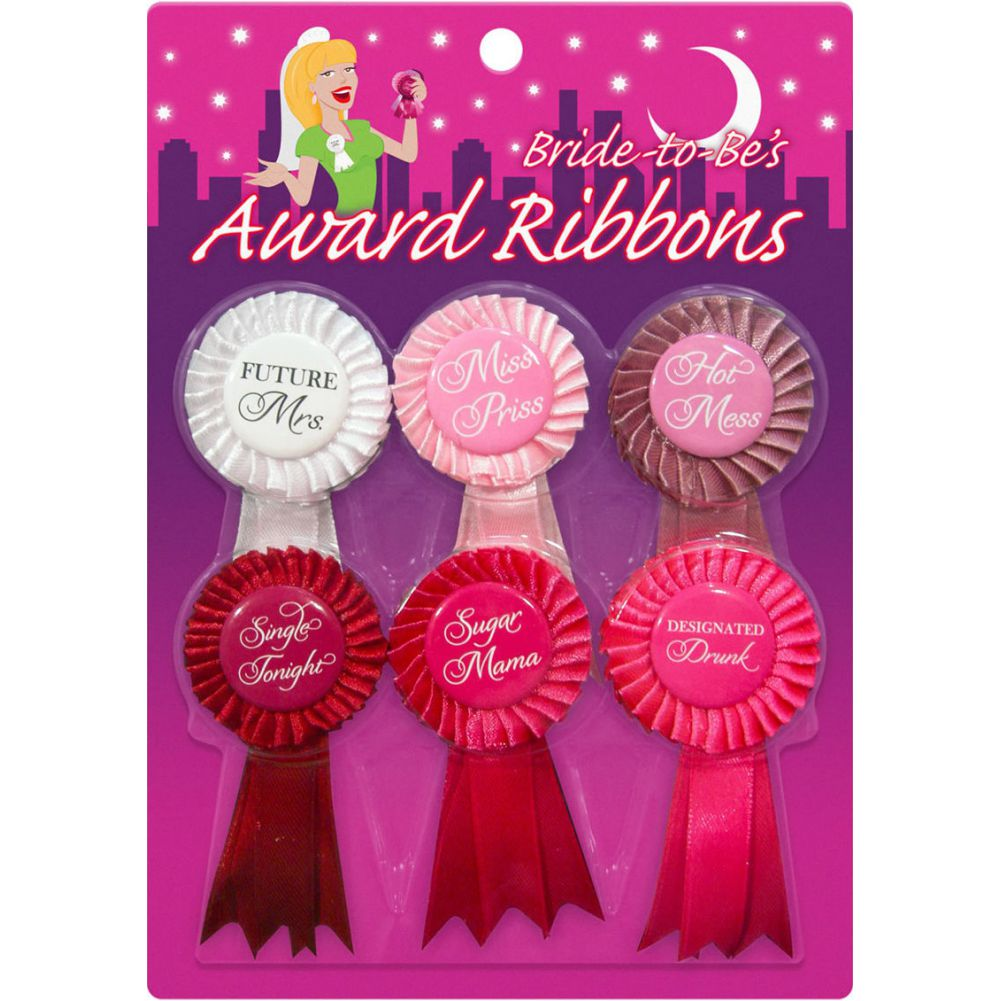 Kheper Games Bride to BeS Award Ribbons Pack of 6 - View #1