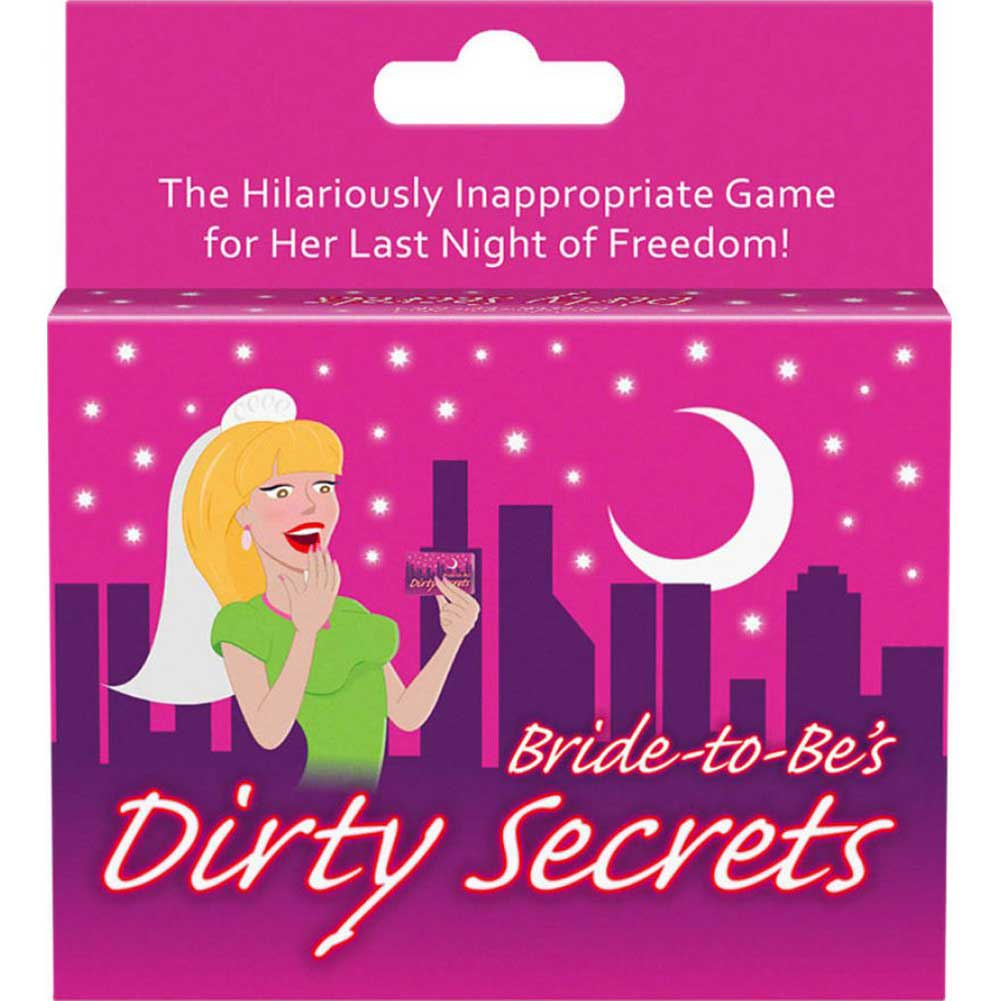Bride-to-Be Dirty Secrets Card Game - View #1