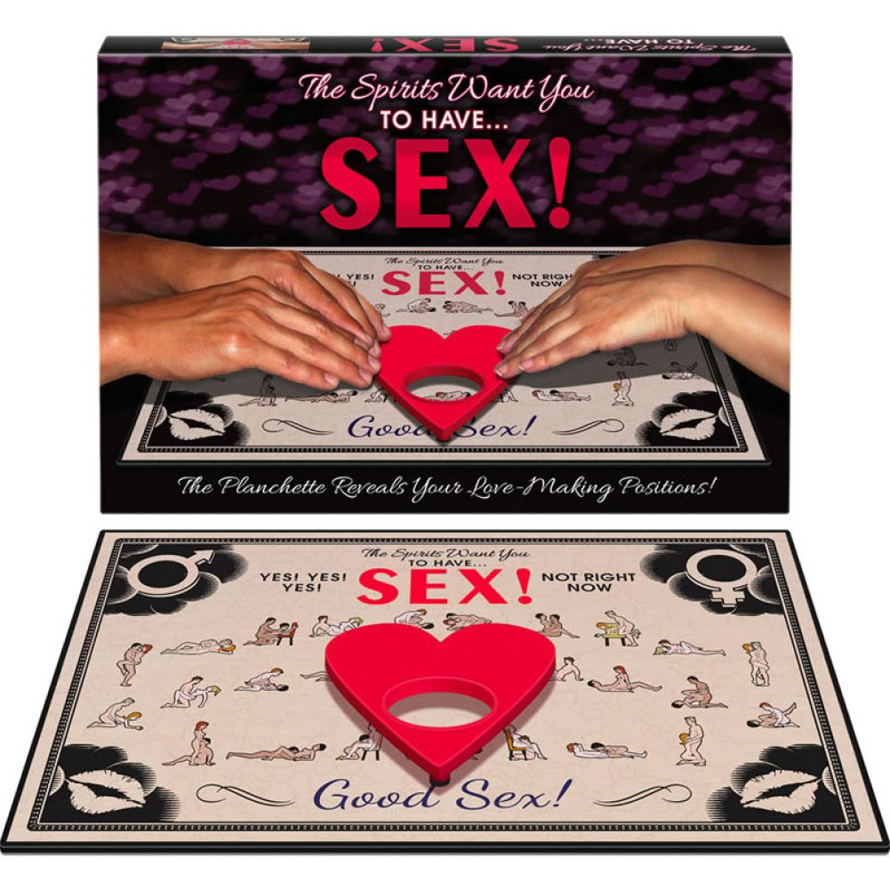 The Spirits Want You to Have Sex Ouija Board Game - View #2