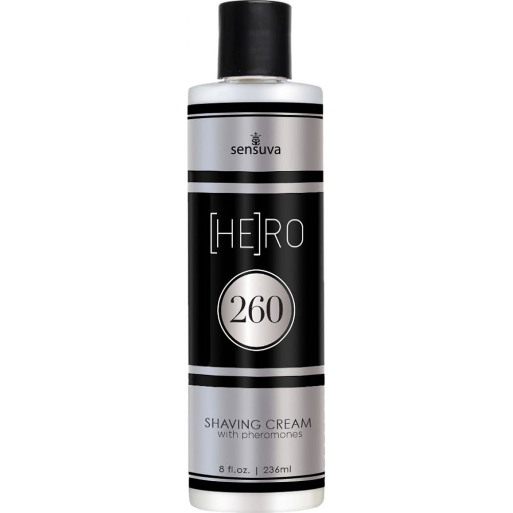 Sensuva Hero 260 Shaving Cream with Pheromones for Men 8 Oz - View #1