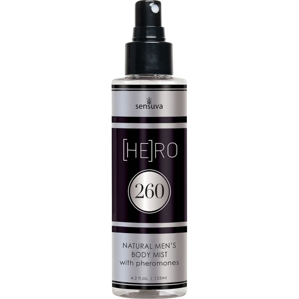 Sensuva Hero 260 Natural MenS Body Mist with Pheromones 4.2 Oz Spray - View #2