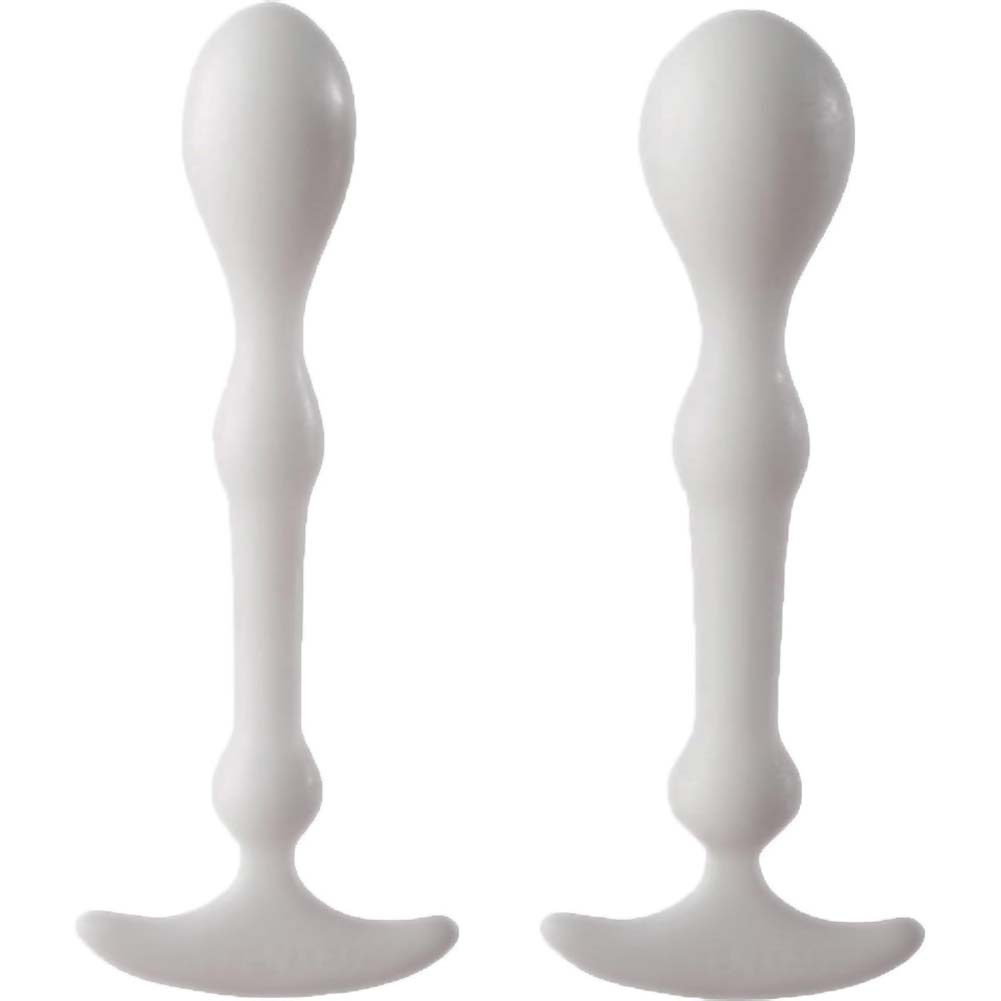 "Aneros Peridise Unisex Anal Stimulator Pack of 2 Probes 4"" White - View #2"