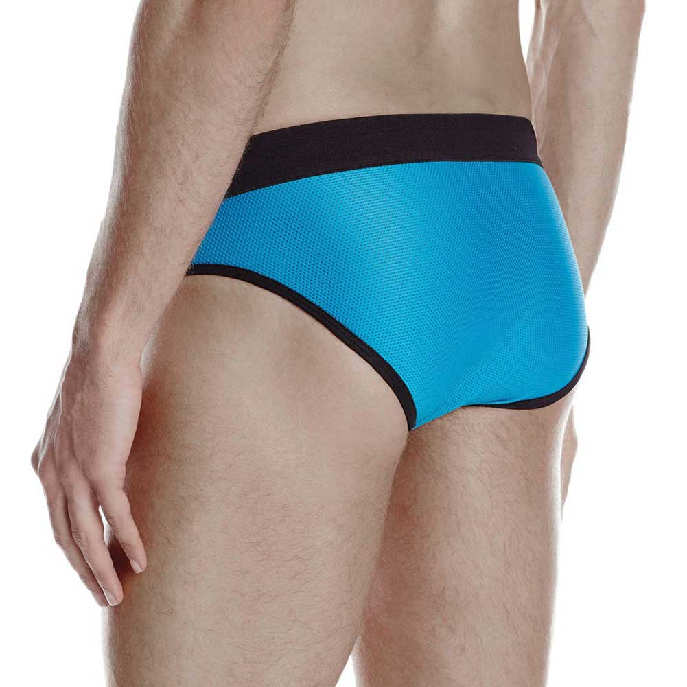 Jack Adams Bodyflex Contour Brief Large Blue/Black - View #3