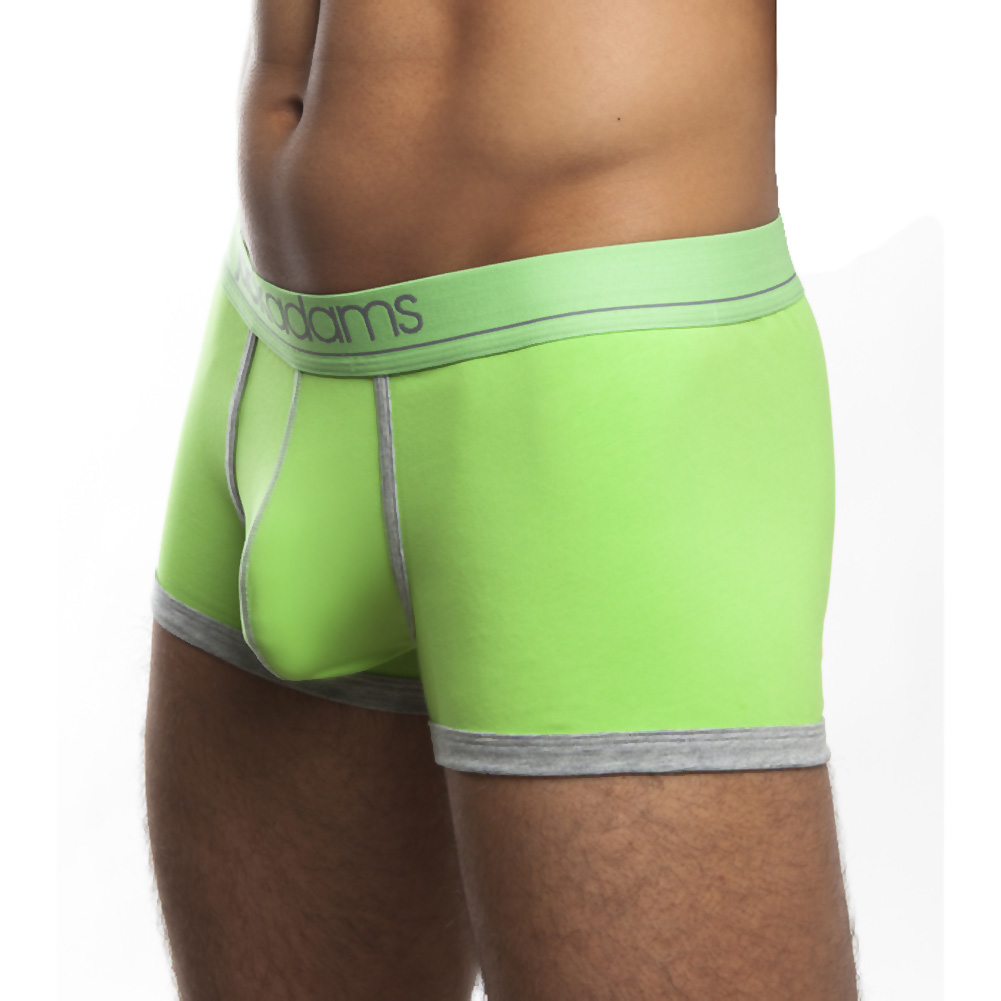 Jack Adams Shorty Boxer Brief Lime Grey Extra Large - View #1