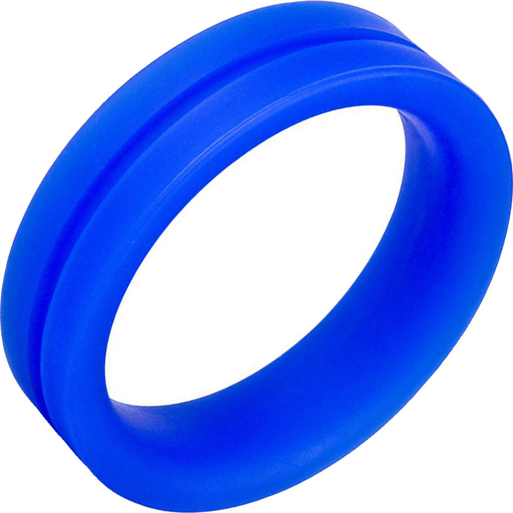 Screaming O Ringo Pro Cock Ring Large Blue - View #2