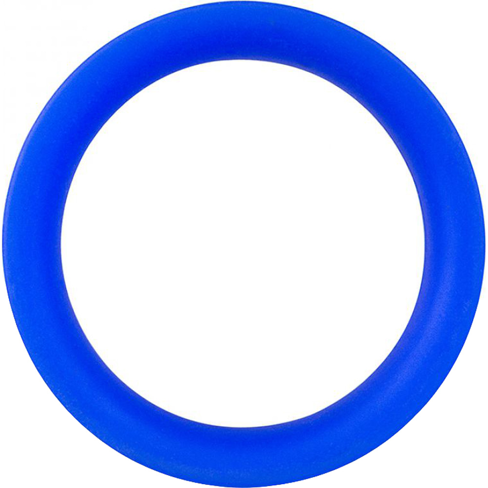 Screaming O Ringo Pro Cock Ring Large Blue - View #4