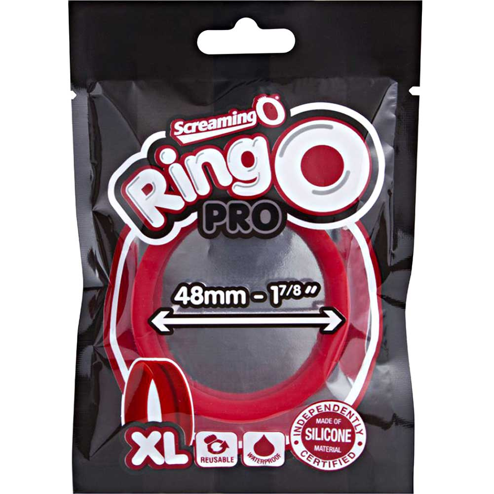 Screaming O Ringo Pro Cock Ring Extra Large Red - View #1