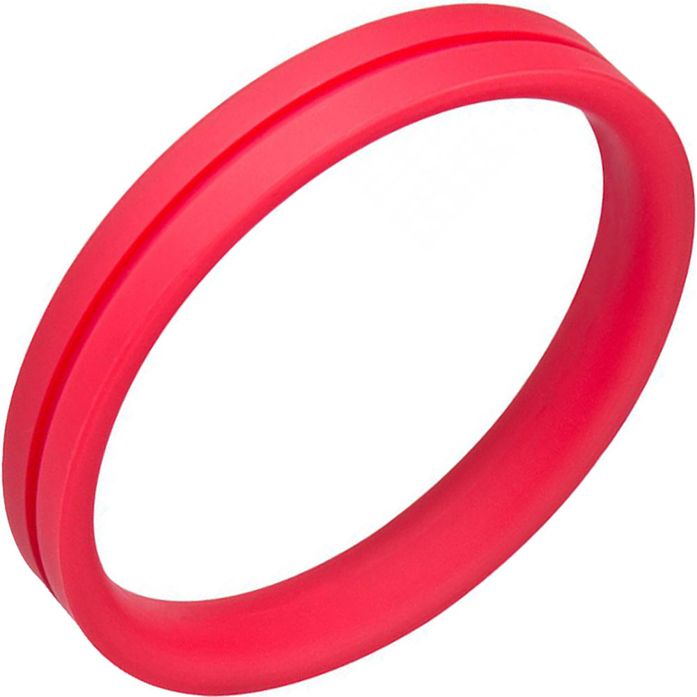 Screaming O Ringo Pro Cock Ring XXLarge Red - View #2