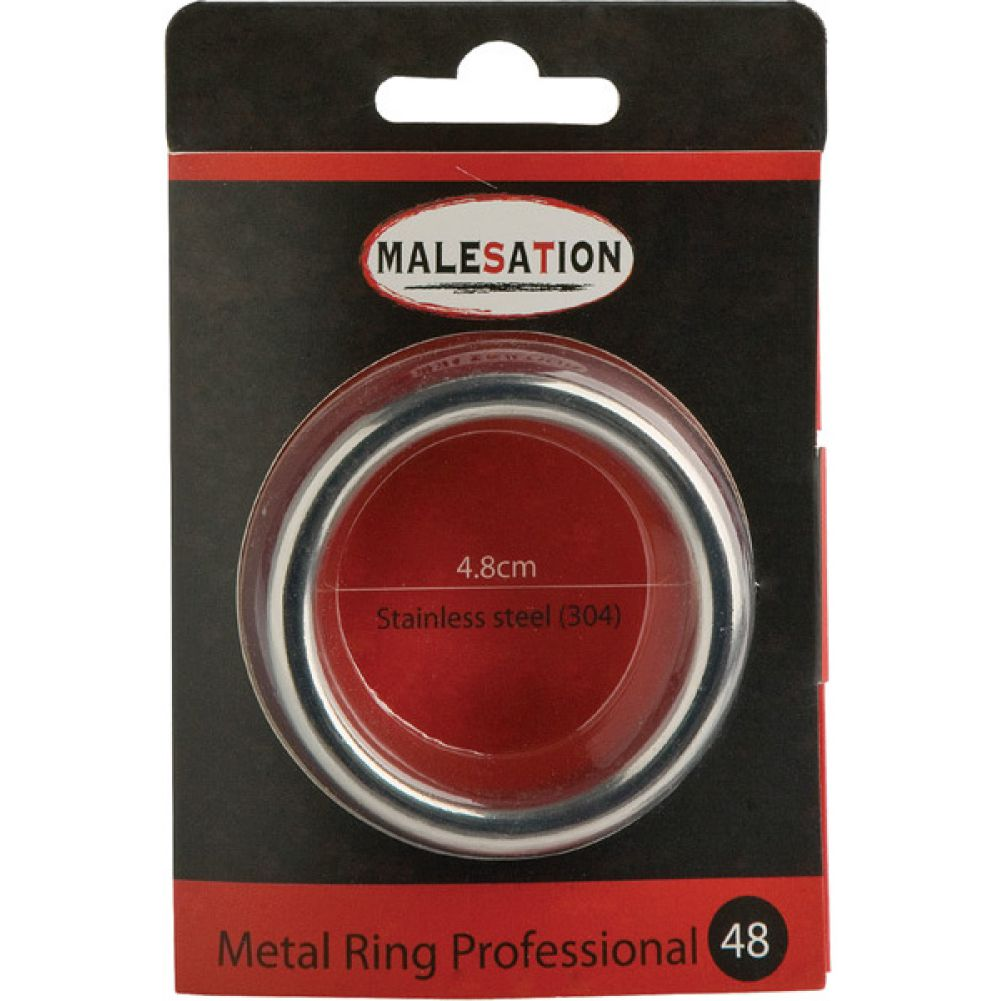 Malesation Metal Professional Ring 48 Mm Silver - View #1