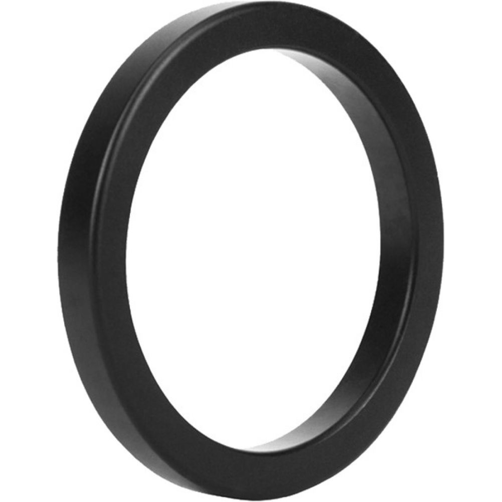 Malesation Nickel Free Metal Stamina Ring Black 40 Mm - View #2