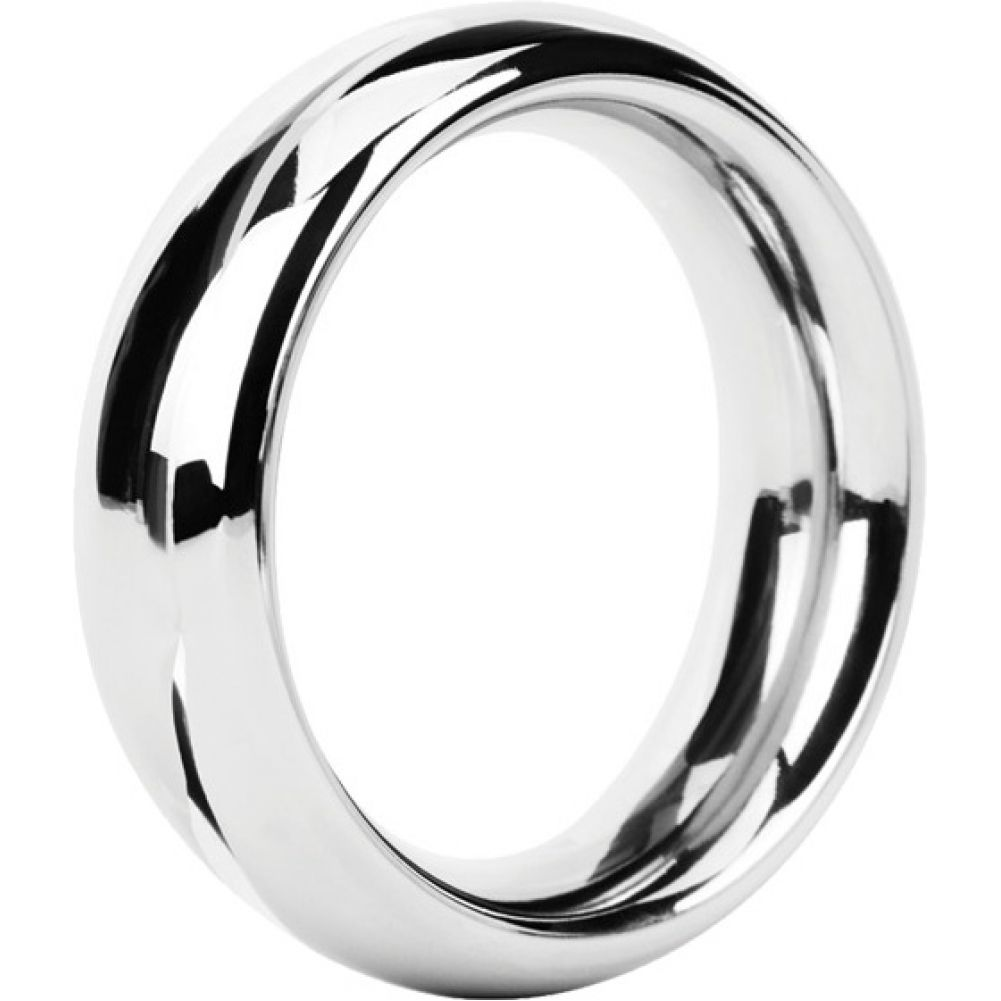 Malesation Nickel Free Stainless Steel Rounded Cock Ring 44 Mm - View #2