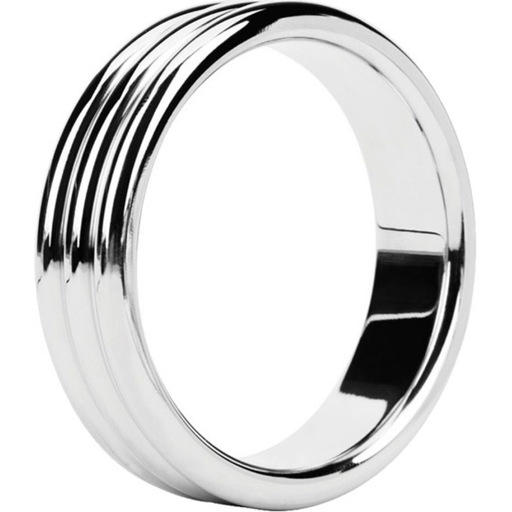 Malesation Nickel Free Stainless Steel Triple Cock Ring 48 Mm - View #2