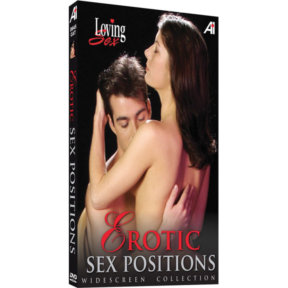 Erotic Sex Positions Widescreen Collection DVD - View #1