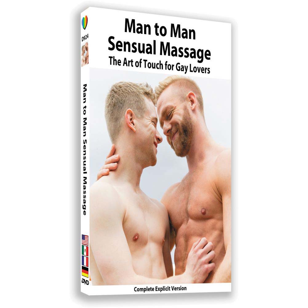 Man to Man Sensual Massage the Art of Touch for Gay Lovers DVD - View #1