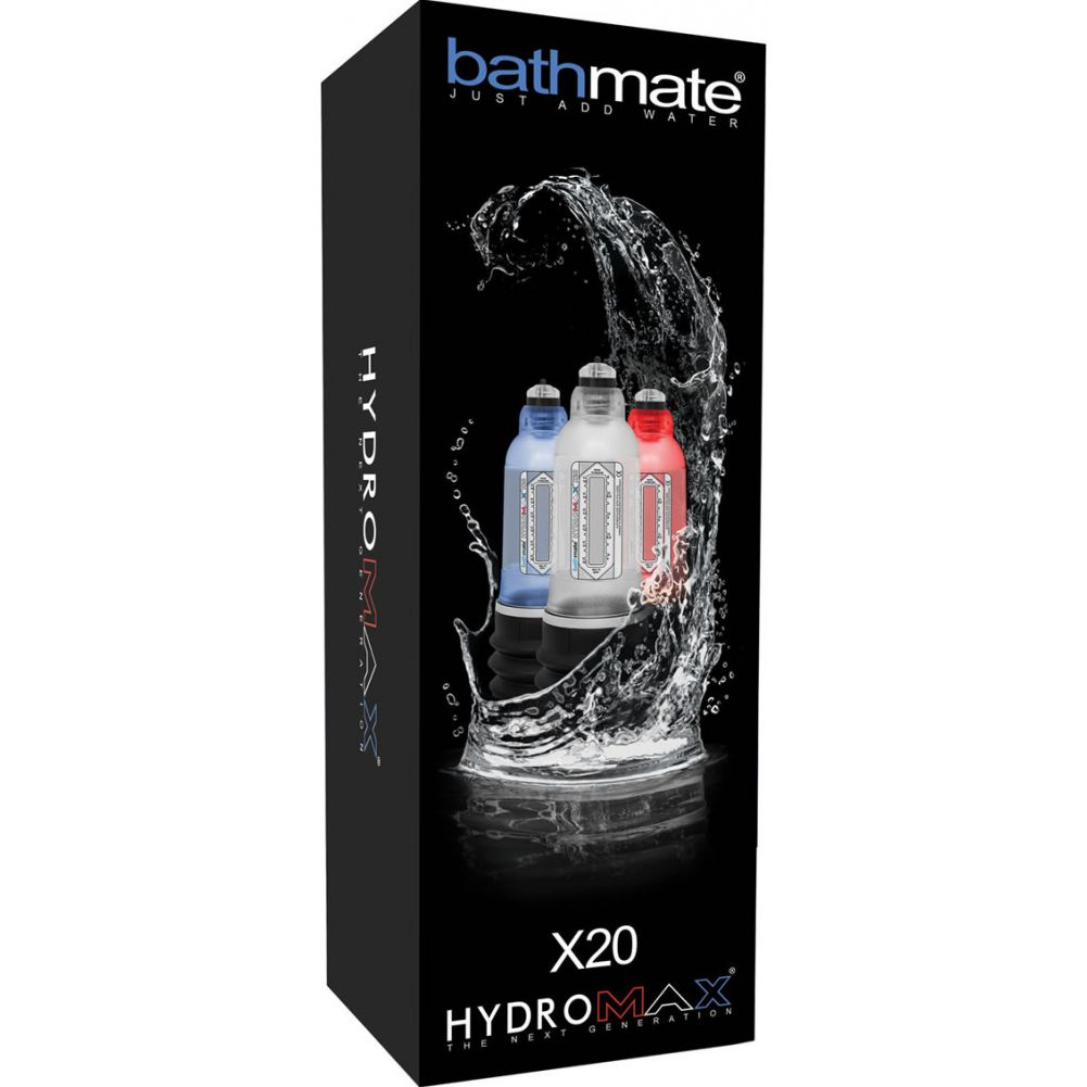 Ultramax Bathmate Hydromax X20 Water Masturbator Red - View #1