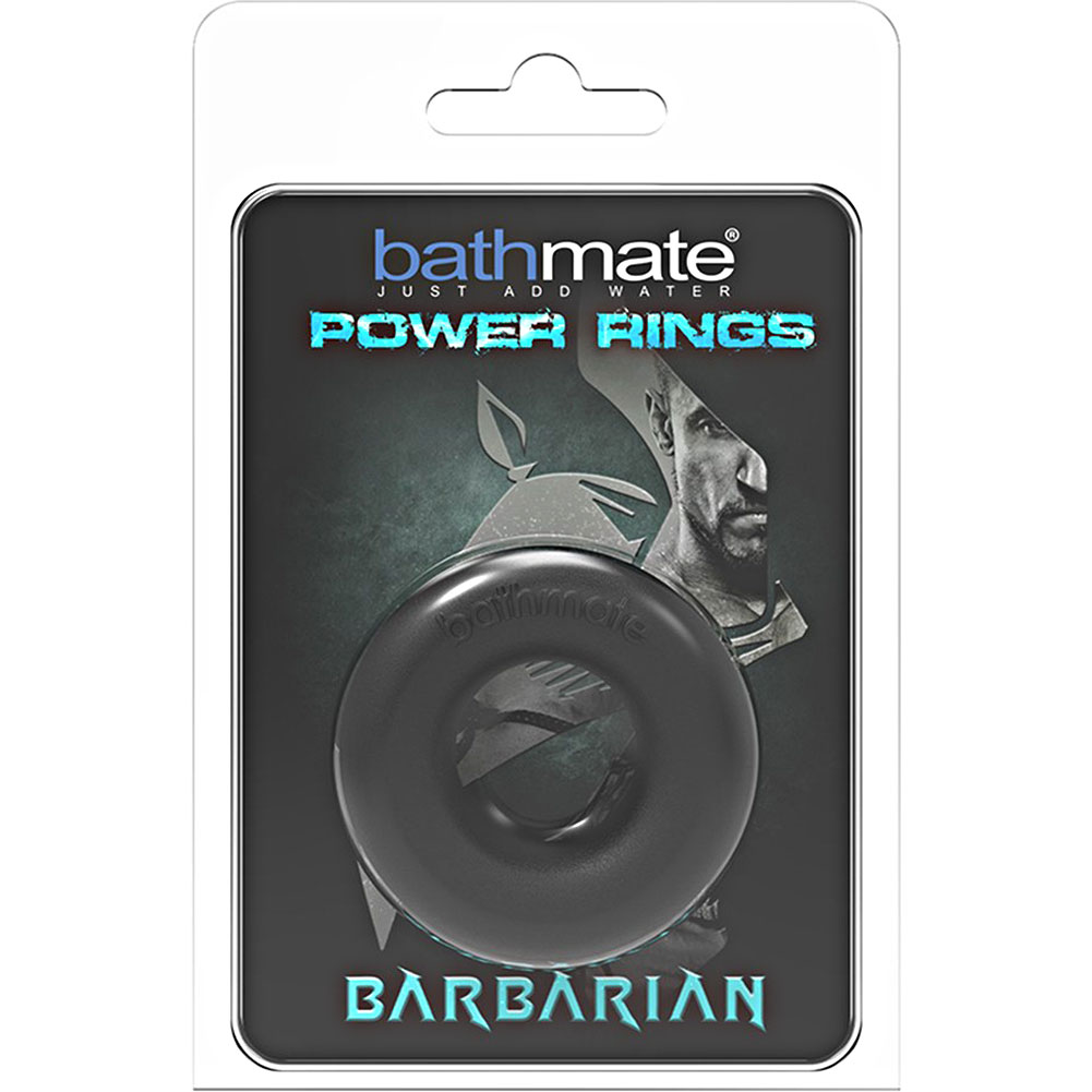 Ultramax Bathmate Barbarian Power Ring Cockring Black - View #1