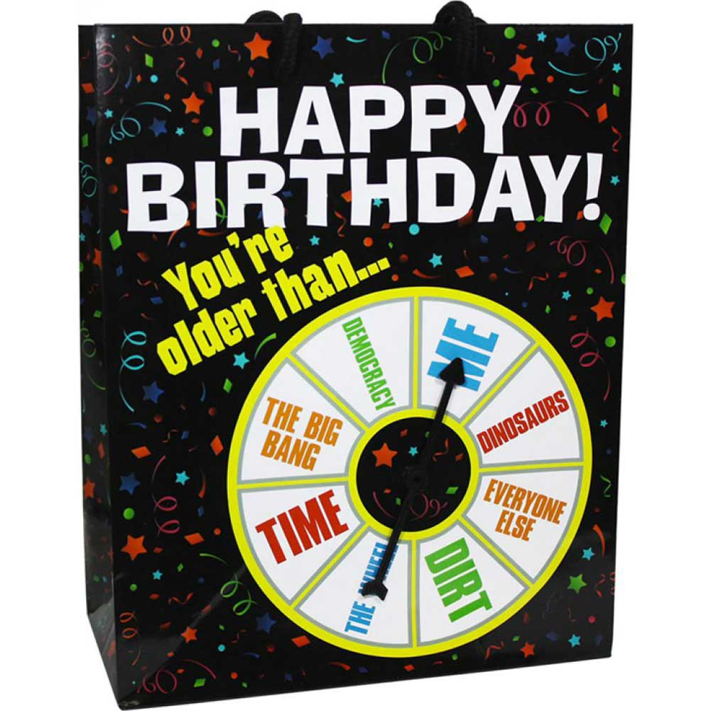 Kalan Happy Birthday You Are Older Than....Spinner Gift Bag - View #1