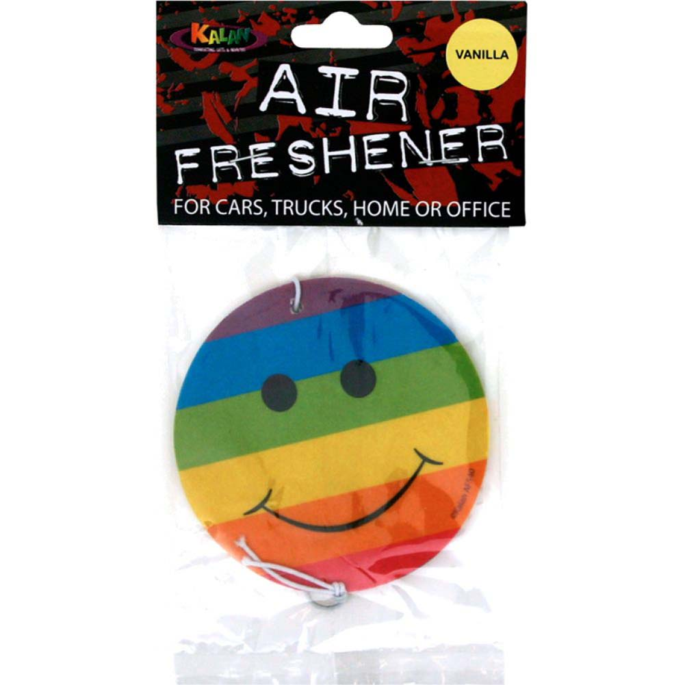 Smiley Rainbow Air Freshener - View #1