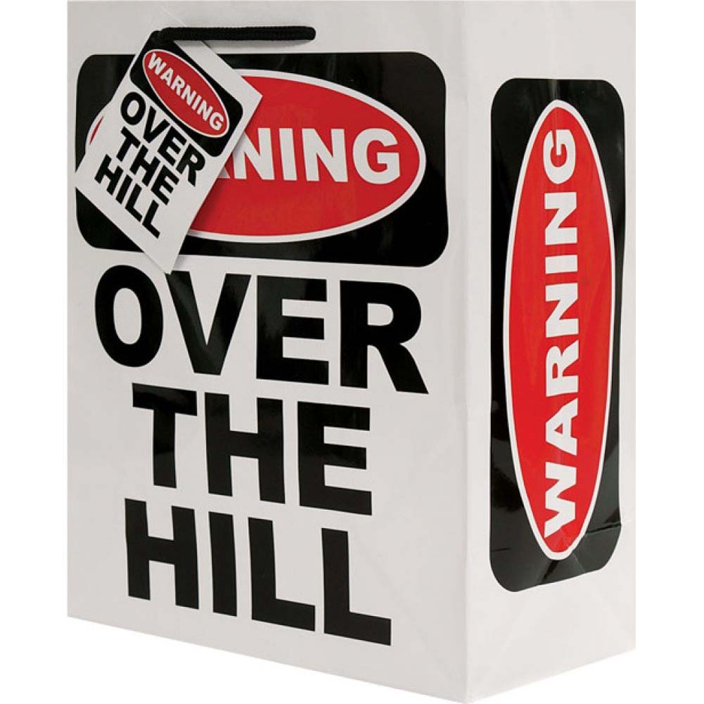 Warning Over the Hill Gift Bag - View #2