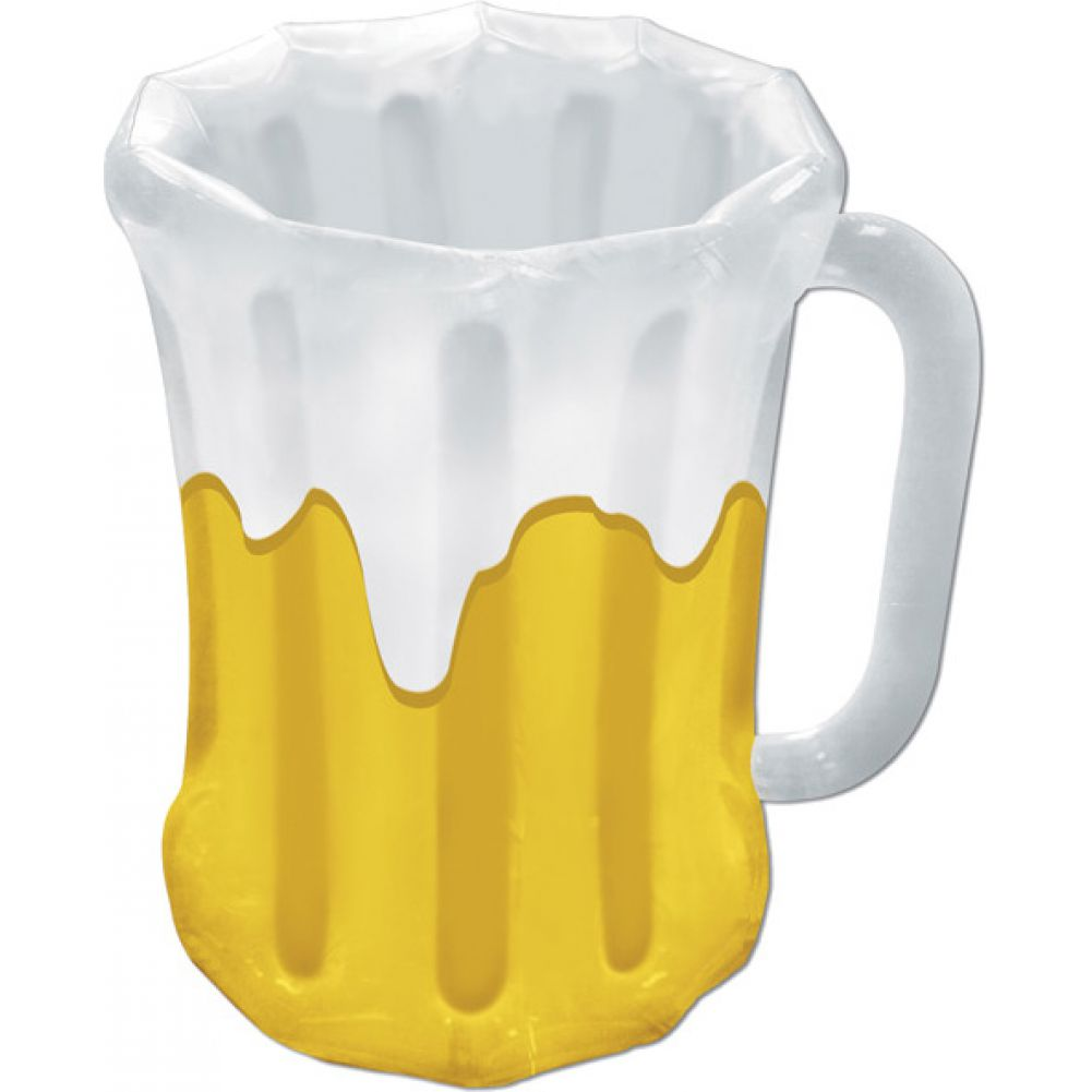 Inflatable Beer Mug Cooler - View #1