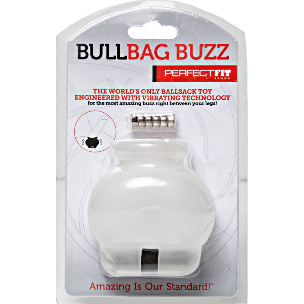 Perfect Fit Vibrating Bull Bag Buzz Clear - View #1