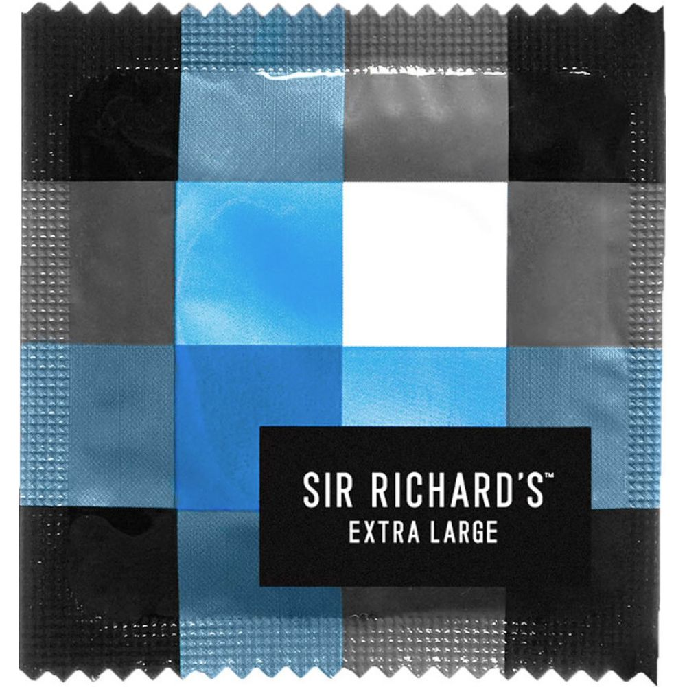 Sir Richards Extra Large Condoms 3 Each Per Pack - View #1