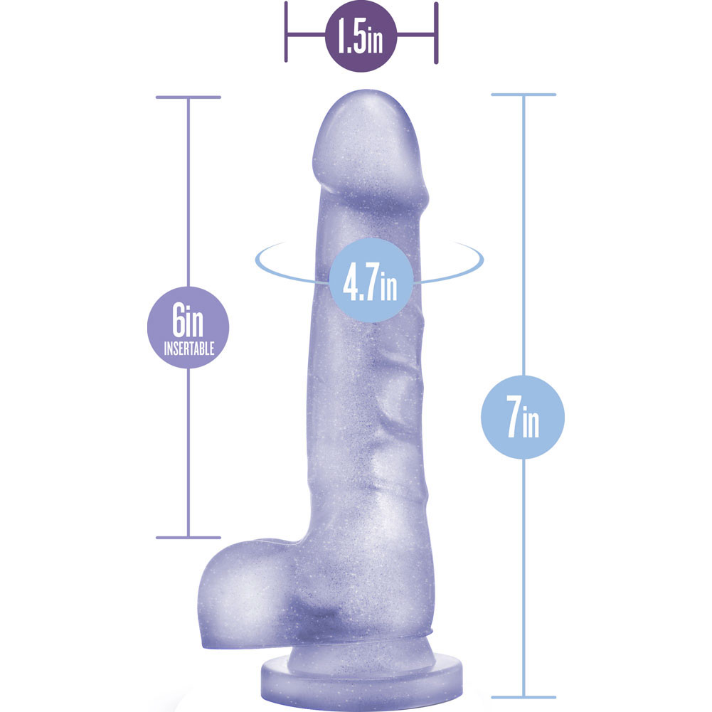 "Blush B Yours Sweet N Hard Number 4 Cock Dildo 7.75"" Clear - View #1"