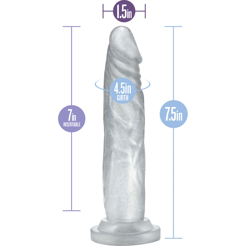 "Blush B Yours Sweet N Hard Number 5 Dildo 7.5"" Clear - View #1"