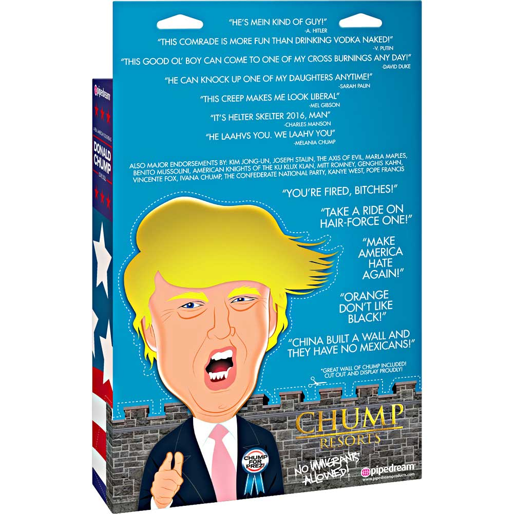 Pipedream Donald Chump Inflatable Love Doll - View #3