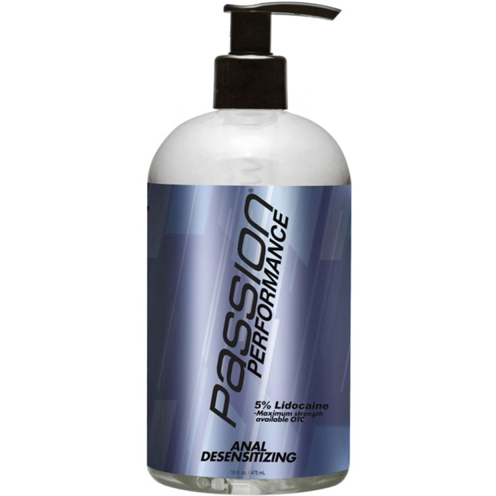 Passion Performance Anal Desensitizing Lubricant 16 Fl.Oz 475 mL - View #1