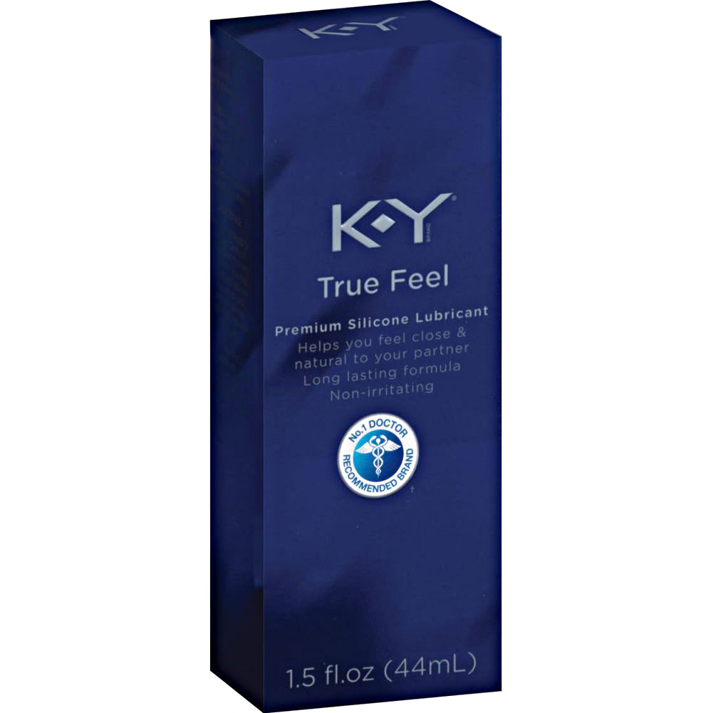 K Y True Feel Premium Silicone Lubricant 1.5 Fl.Oz 44 mL - View #1