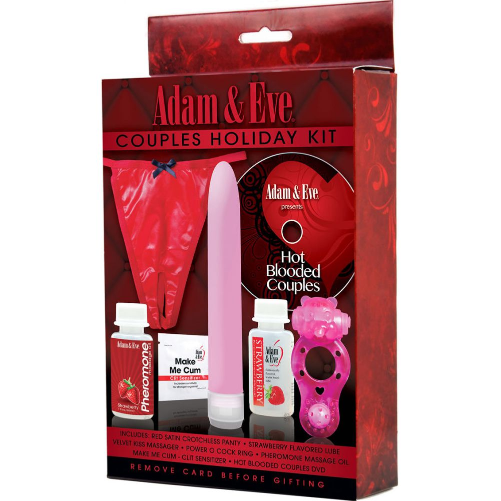 Adam and Eve Couples Holiday Kit - View #1