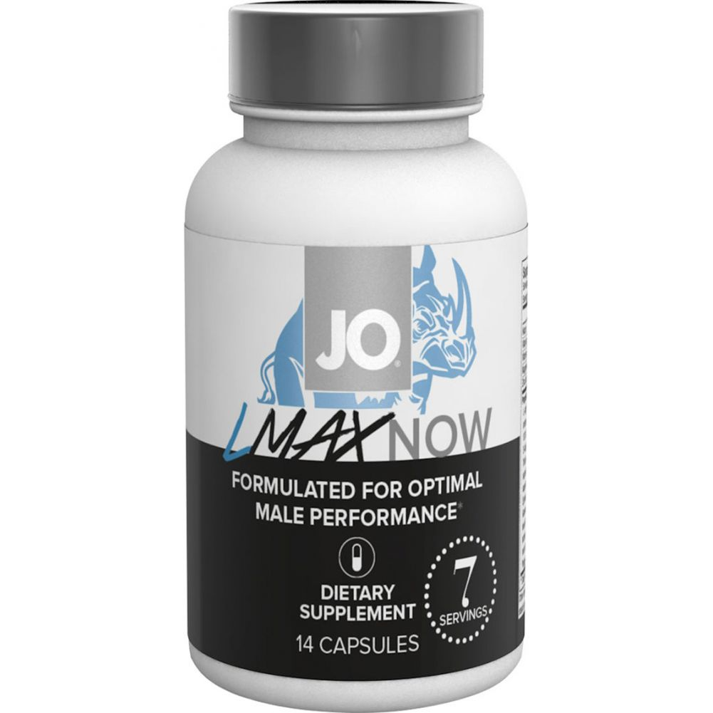 System JO Lmax Now Male Performance Supplement 14 Capsules Per Bottle - View #2