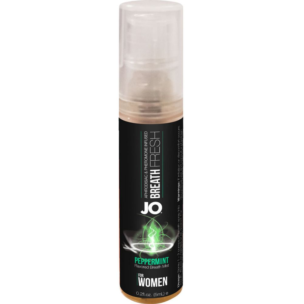 System JO Fresh Breath for Women Peppermint 12 Each 5 Milliliter Spray Per Counter Display - View #2
